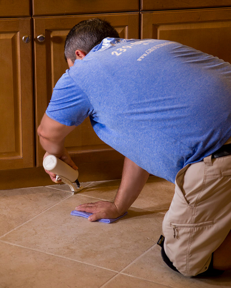 Grout Sealing Options