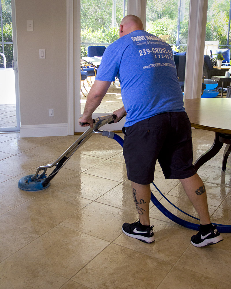 Jason Cleaning Tile