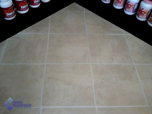 Grout Color Sealing Restores Tile Flooring | Grout Magnificent