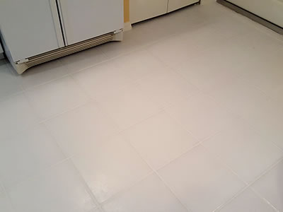 After Grout Sealing & Cleaning
