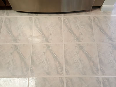 Clean Tile - After Pic