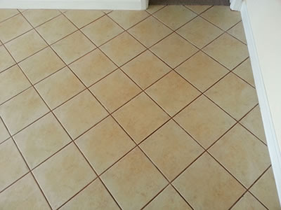 Before Grout Cleaning pic
