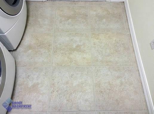 after restoring tile
