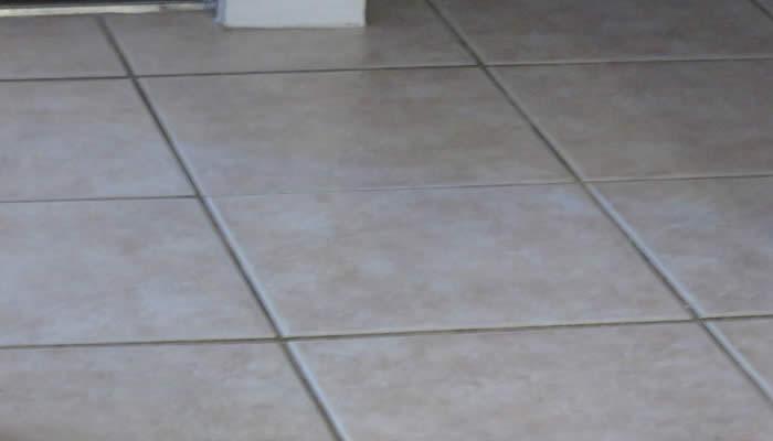 maintaining tile floor