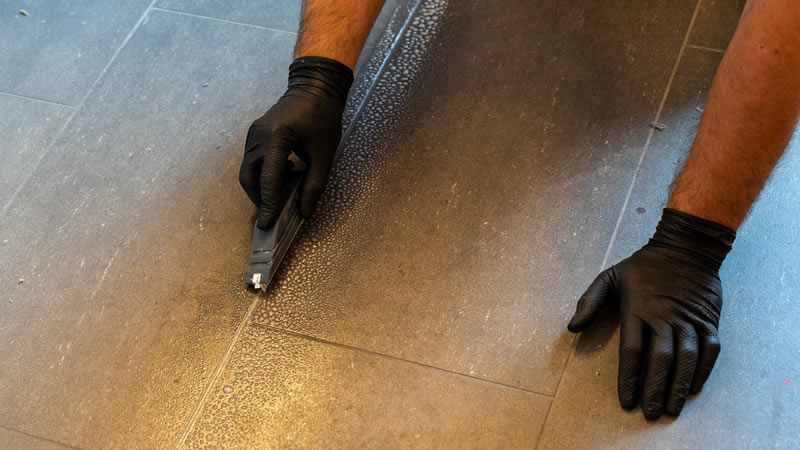 when to seal grout