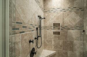 sealing shower tile