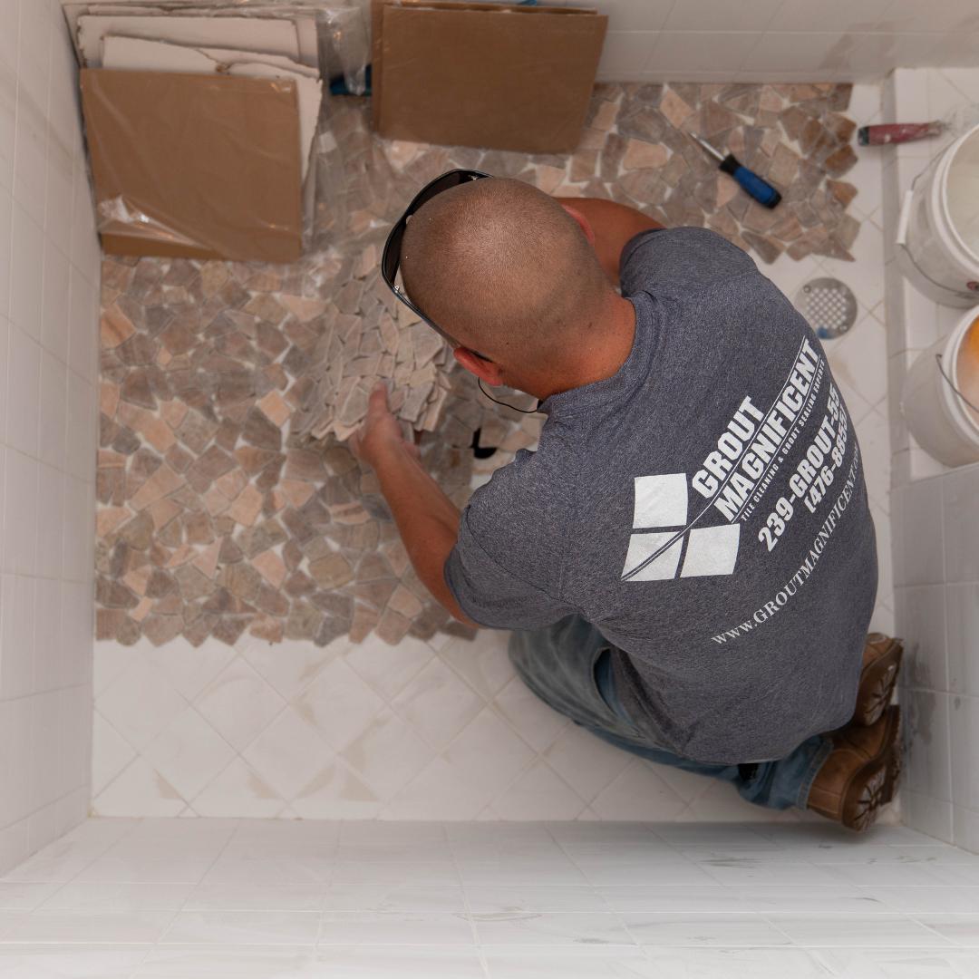 Installing Shower Tile Over Tile