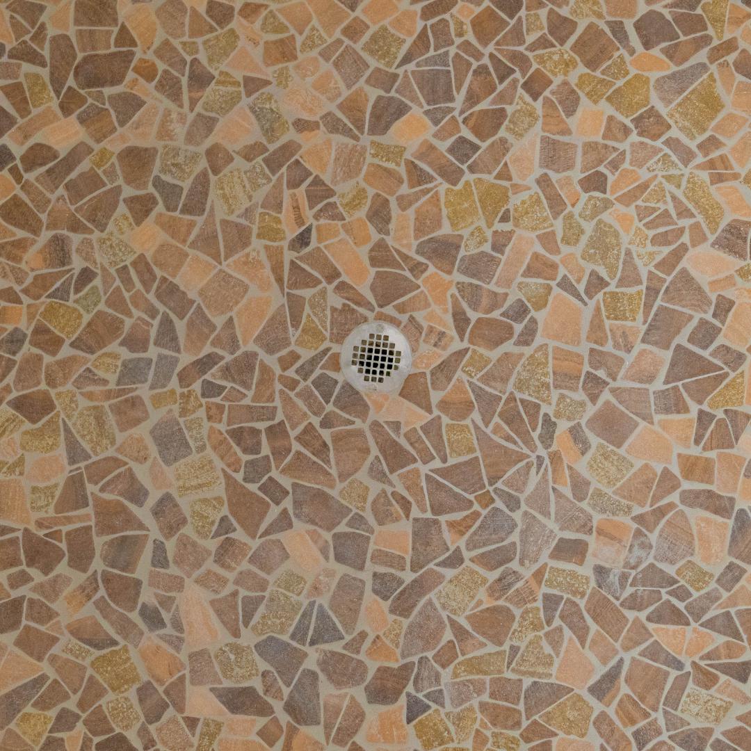After Tile Installation Over Old Tile